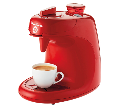 moulinex cafetiere a dosettes direct serve rouge rubis. Black Bedroom Furniture Sets. Home Design Ideas