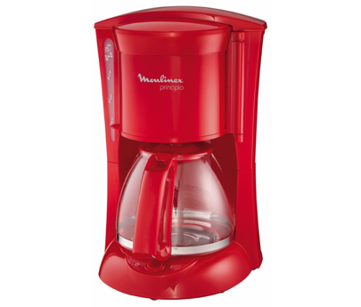 modes d 39 emploi cafetiere principio rouge glossy fg111z30 moulinex. Black Bedroom Furniture Sets. Home Design Ideas