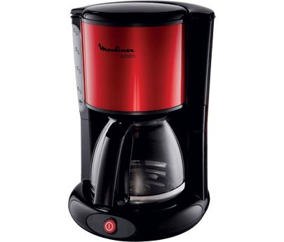 cafeti re lectrique 15 tasses subito rouge noir. Black Bedroom Furniture Sets. Home Design Ideas