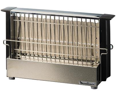 moulinex grille pain inox noir a15453. Black Bedroom Furniture Sets. Home Design Ideas