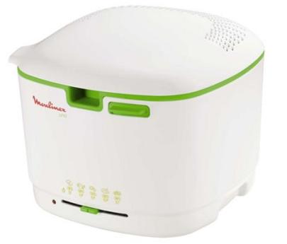 Moulinex friteuse uno blanc vert anis af103130 - Friteuse moulinex uno m blanc ...