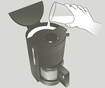 cafeti re lectrique 15 tasses principio noir moulinex. Black Bedroom Furniture Sets. Home Design Ideas