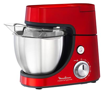 Robot p tissier masterchef gourmet rouge moulinex - Cuisiner avec un robot patissier ...