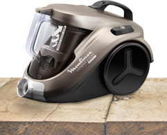 Aspirateur compact power cyclonic - Moulinex