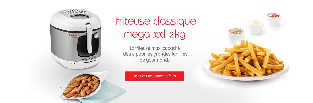 Friteuse électrique - Moulinex